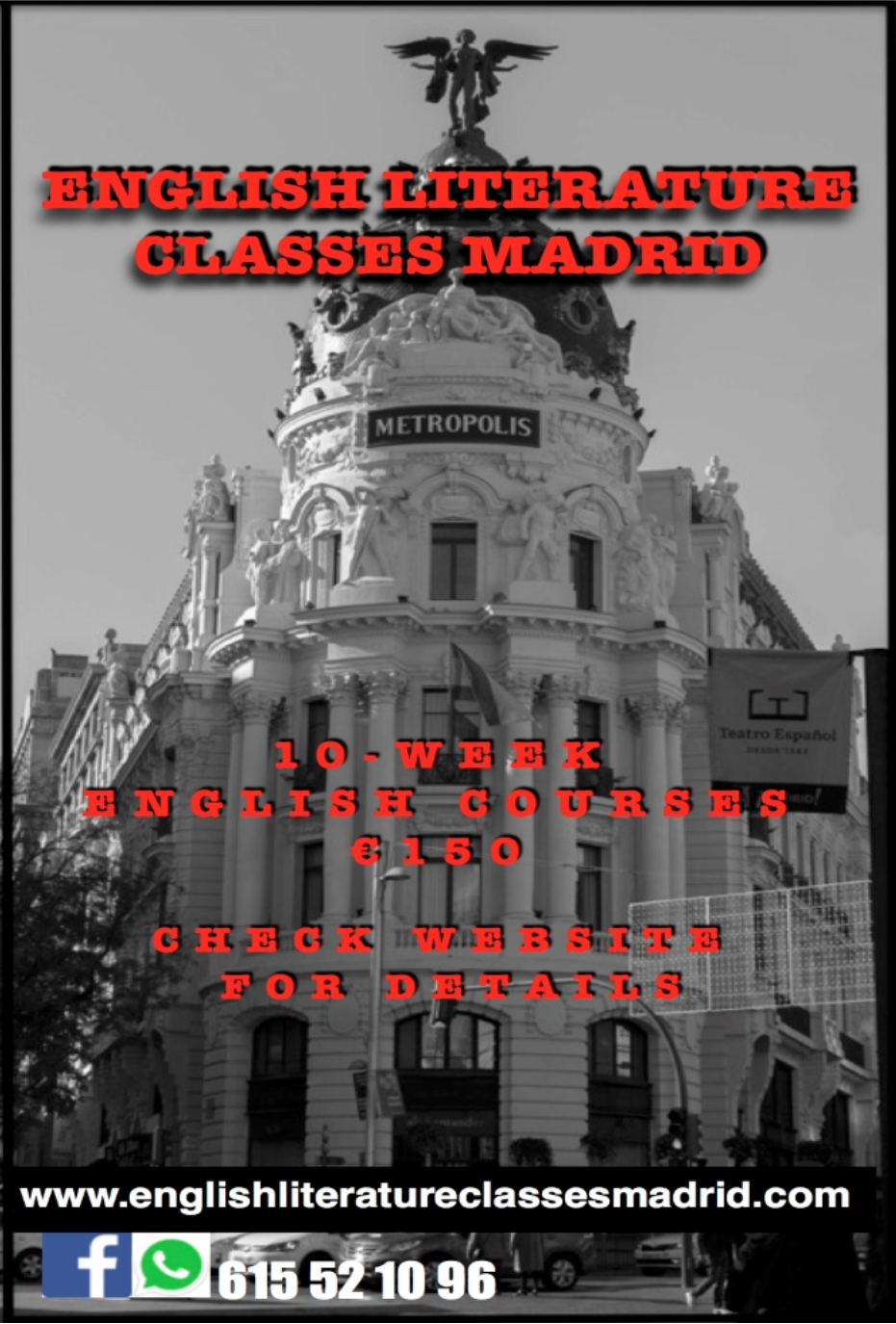 English Literature Classes Madrid