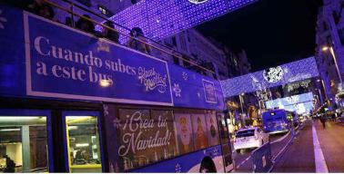 Christmas Bus - Naviluz